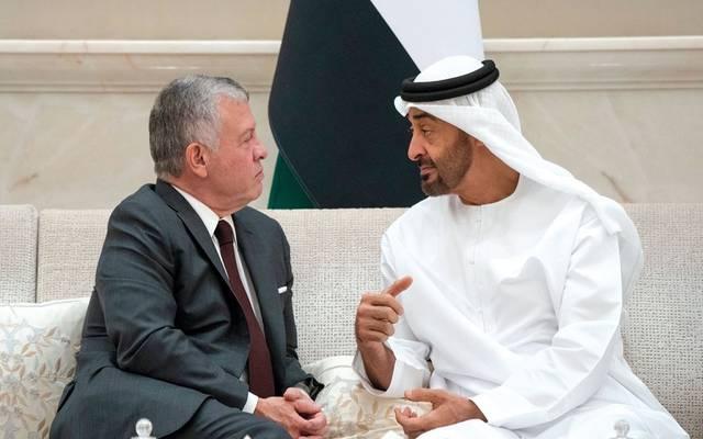 الشيخ محمد بن زايد والملك عبدالله - صورة أرشيفية