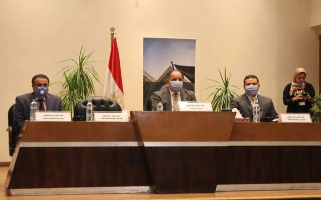 خلال المؤتمر الصحفي الذي عقدته المالية المصرية بشأن بدء تطبيق الفاتورة الإلكترونية