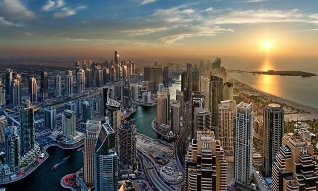 أحد معالم إمارة دبي