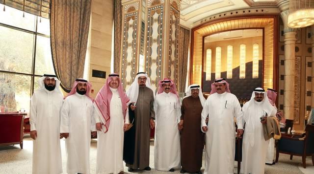 جانب من استضافة غرفة الرياض لمجلس إدارة الغرف السعودية