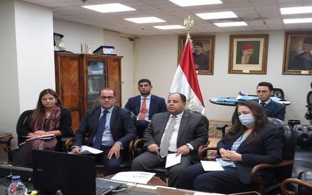 خلال مشاركة محمد معيط، في لقاءين أحدهما مع ممثلي السياسة المالية بصندوق النقد، والآخر مع 40 مستثمراً أمريكياً