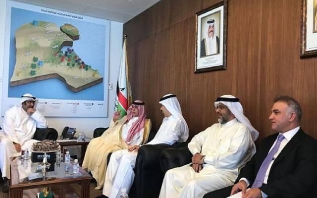 وزيرا التجارة في اجتماع سابق بالكويت ـ أرشيفية