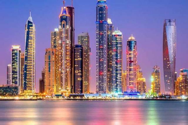 أحد المعالم السياحية في الإمارات