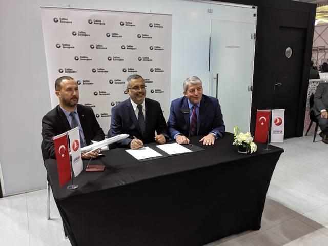 الخطوط الجوية التركية تبرم اتفاقية على هامش معرض دبي للطيران