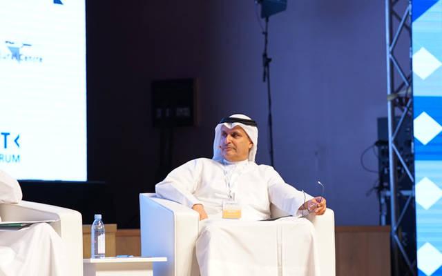عصام جاسم الصقر ، الرئيس التنفيذي في بنك الكويت الوطني.
