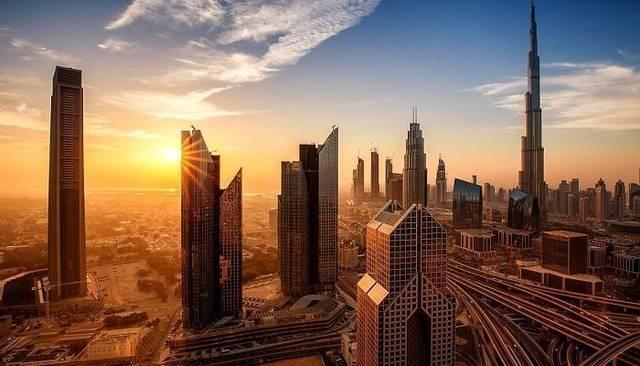 نطحات سحاب بإمارة دبي