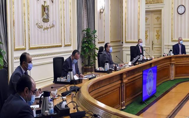 خلال اجتماع مجلس الوزراء المصري