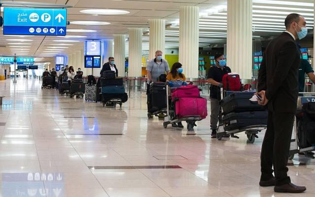 مطار دبي - أرشيفية