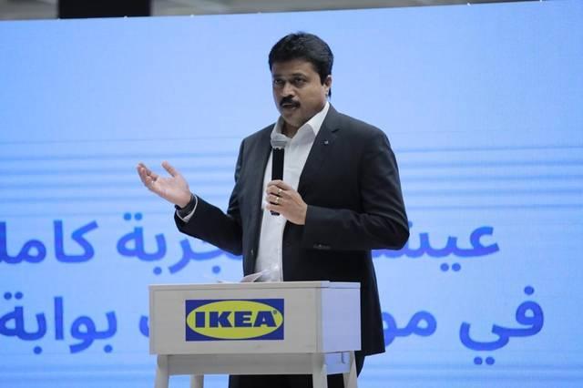 فينود جايان المدير العام لشركة أيكيا في مصر والإمارات وقطر وعُمان