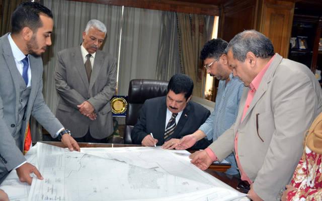 عبدالحميد الهجان محافظ القليوبية يعتمد المخطط التفصيلي لمدينة طوخ