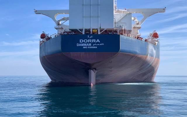 ناقلة النفط درة المملوكة للشركة الوطنية السعودية للنقل البحري
