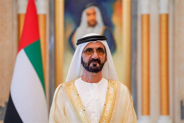 الشيخ محمد بن راشد آل مكتوم نائب رئيس الإمارات رئيس مجلس الوزارء حاكم دبي