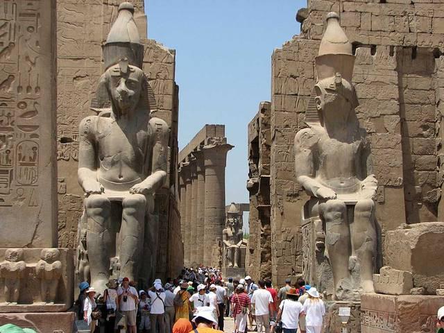 مناطق آثارية مصرية