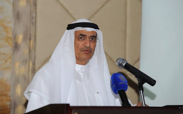 بخيت الرشيدي وزير النفط وزير الكهرباء والماء الكويتي