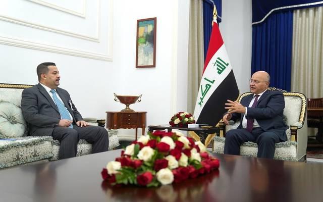 جانب من لقاء رئيس الجمهورية بأحد أعضاء مجلس النواب