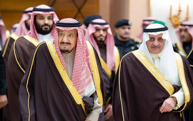 جانب من زيارة الملك سلمان بن عبدالعزيز وولي العهد لمنطقة تبوك