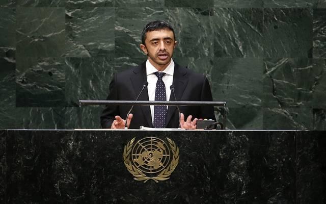 الشيخ عبدالله بن زايد آل نهيان وزير الخارجية والتعاون الدولي الإماراتي - أرشيفية