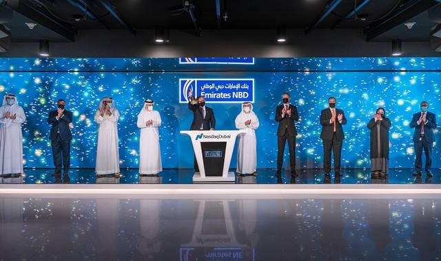Emirates NBD lists $750m bonds on Nasdaq Dubai