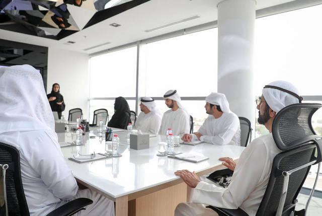 """صور.. محمد بن راشد يطلق استراتيجية الإمارات لـ""""البلوك تشين"""""""