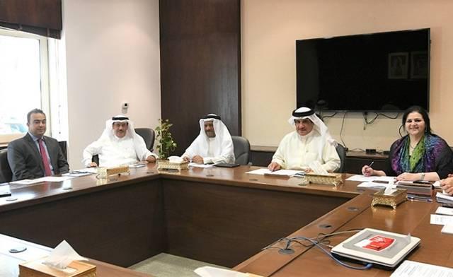 جانب من اجتماع لجنة الشؤون الخارجية والدفاع والأمن الوطني