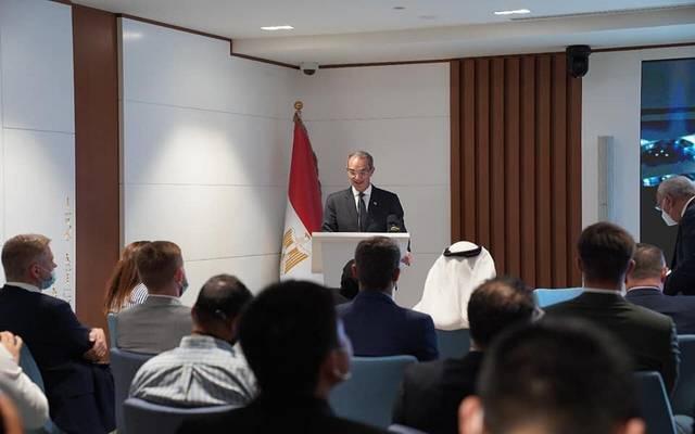 """خلال ندوة """"فرص الاستثمار في تكنولوجيا المعلومات والبنية التحتية في مصر"""""""