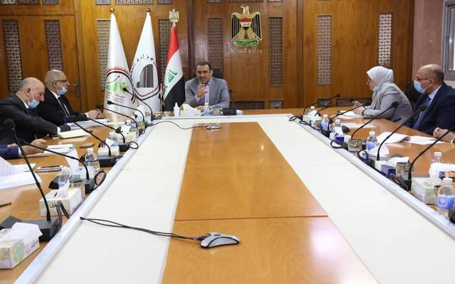 وزير التخطيط العراقي، خالد بتال النجم، يترأس الاجتماع المخصص لمناقشة إعادة النظر بمسارات خطة التنمية الوطنية الخمسية 2018-2022