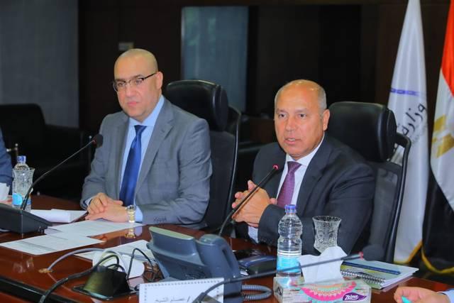 وزيرا الإسكان عاصم الجزار والنقل كامل الوزير