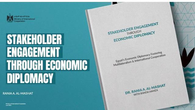 """Book is titled """"Stakeholder Engagement Through Economic Diplomacy"""""""