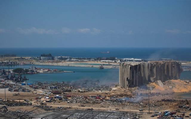 السفارة المصرية بلبنان: وفاة ثالث مواطن جراء انفجار ميناء بيروت البحري