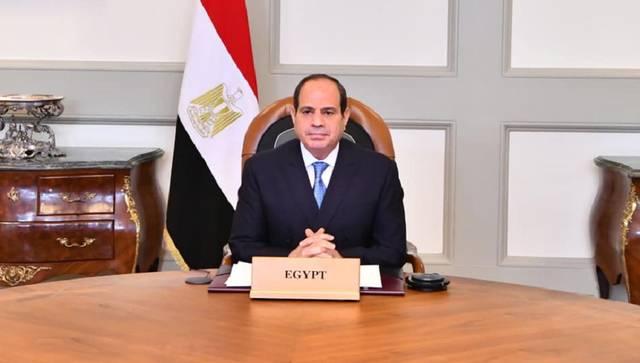 السيسي: مصر تحرص على توطين أهداف التنمية المستدامة ودمجها في برامجها