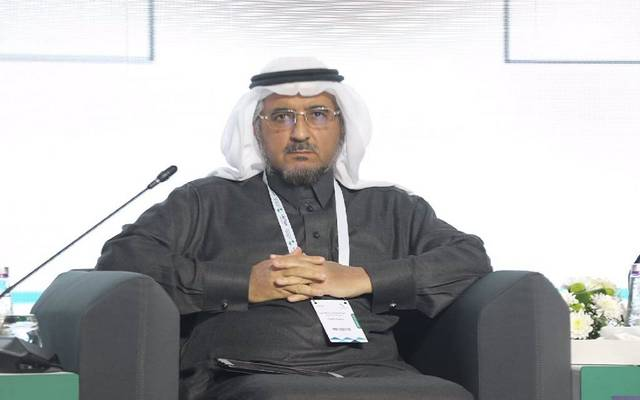 الرئيس التنفيذي لمصرف الإنماء عبدالمحسن الفارس خلال منتدى الرياض الاقتصادي