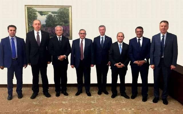 خلال جلسة مباحثات عقدها وزير الصناعة المصري مع نظيره البيلاروسي