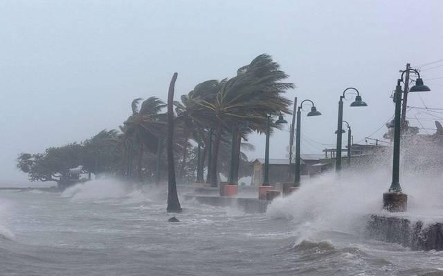 الهيئة: سرعة الرياح حول مركز الإعصار ما بين 157 إلى 167 كم /ساعة