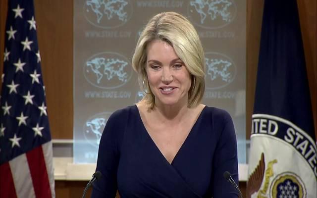 الصحفية هيدز نويرت - المتحدثة الإعلامية لوزارة الخارجية الأمريكية (أرشيفية)