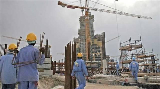 أحد مواقع العمل في دولة الإمارات