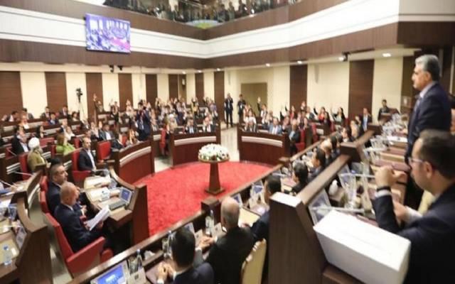 خلال جلسة برلمان إقليم كردستان العراق