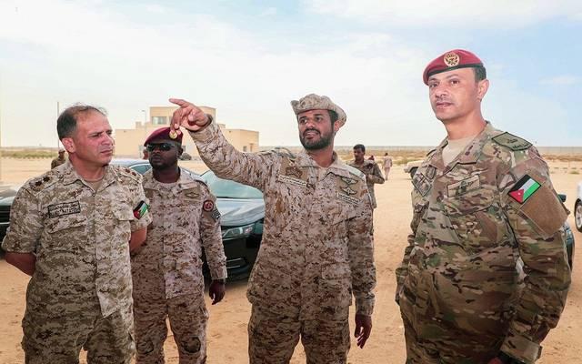 جانب من التدريب ـ الصورة من الوكالة السعودية للأنباء
