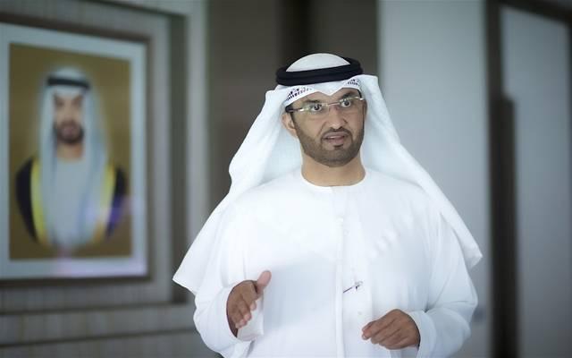 """سلطان أحمد الجابر وزير الصناعة والتكنولوجيا المتقدمة الإماراتي العضو المنتدب والرئيس التنفيذي لشركة بترول أبوظبي الوطنية """"أدنوك"""""""