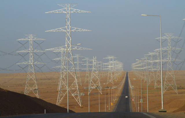 The electricity transmission network in the Kingdom has witnessed significant growth since 2000