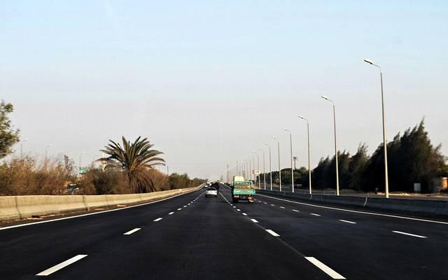 """المرور: غلق طريق """"القاهرة/ الإسكندرية"""" جزئياً"""