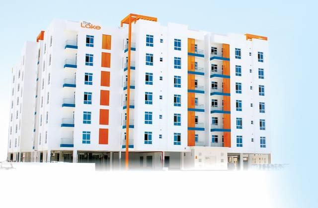 صورة لأحد عمارات المشروع