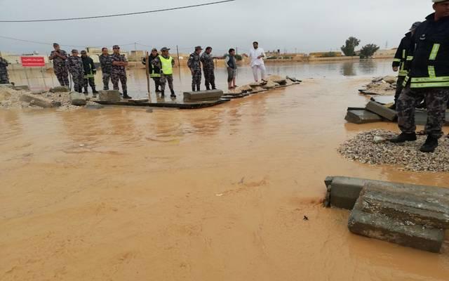 محدث.. أعداد الوفيات ترتفع لـ7 حالات في الأردن بسبب السيول