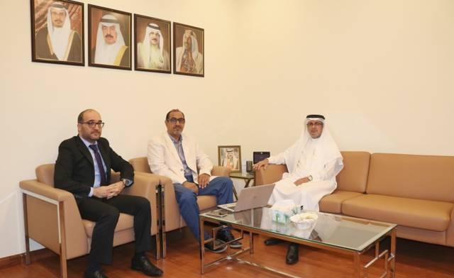 الأشغال البحرينية تناقش التعاون مع الشركة الوطنية للغاز