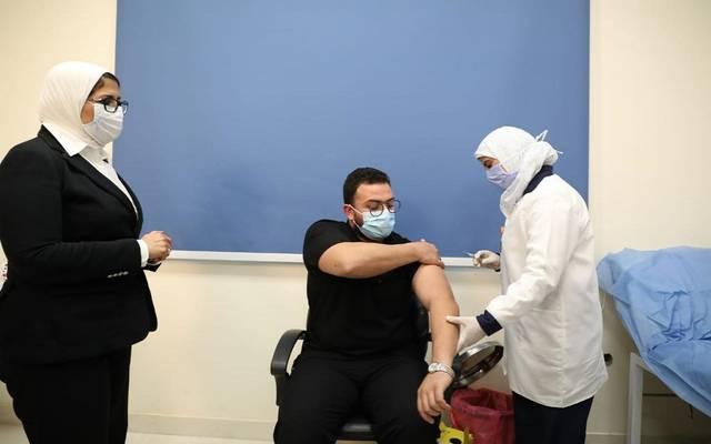 جانب من التطعيم