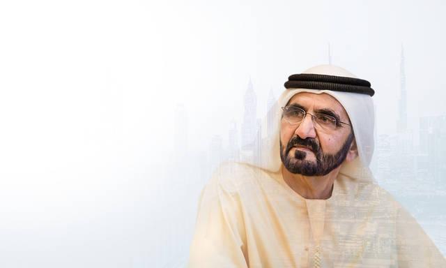 الشيخ محمد بن راشد آل مكتوم، نائب رئيس الإمارات، رئيس مجلس الوزراء، حاكم دبي