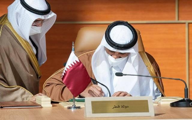"""قطر ترحب ببيان """"العلا"""": أولوية لوحدة الصف الخليجي وإعادة لحمة شعوب المنطقة"""