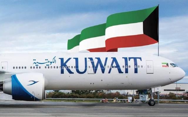 طائرة للخطوط الكويتية