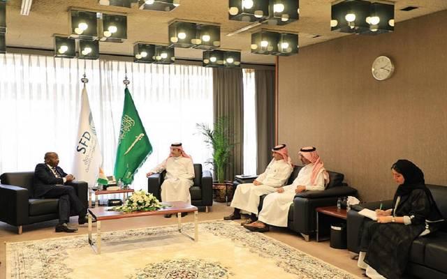اجتماع الرئيس التنفيذي للصندوق السعودي للتنمية مع وزير السياحة والترفيه في جمهورية كوت ديفوار