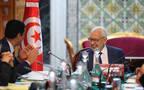 راشد الغنوشي خلال إجتماع مكتب مجلس نواب الشعب التونسي
