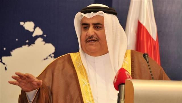 الشيخ خالد بن أحمد بن محمد آل خليفة، وزير خارجية البحرين